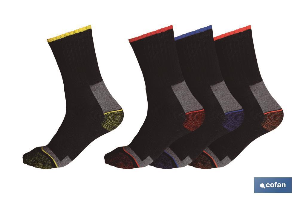 Calcetines reforzados set 4 pares