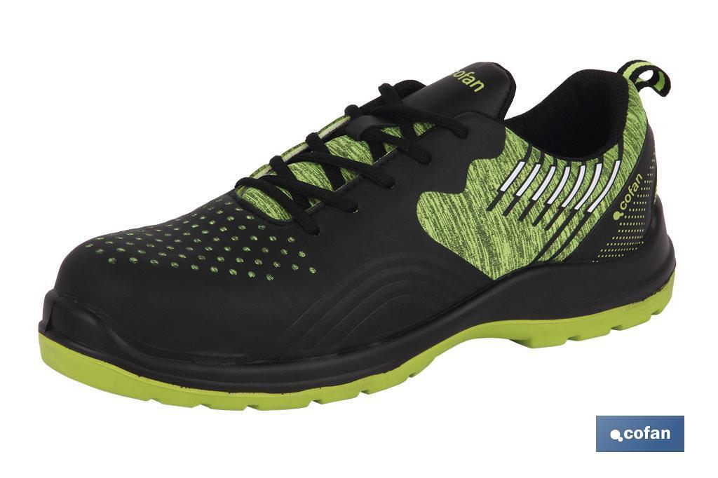 Zapato deportivo S1P SRC Mod. Solana Negro