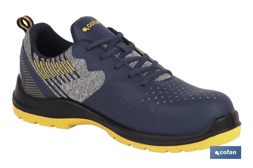 Zapato deportivo S1P SRC Mod. Solana Azul