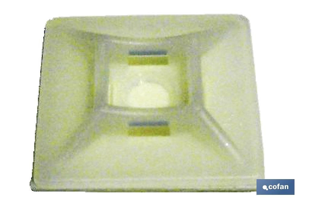 Base Adhesiva para Bridas