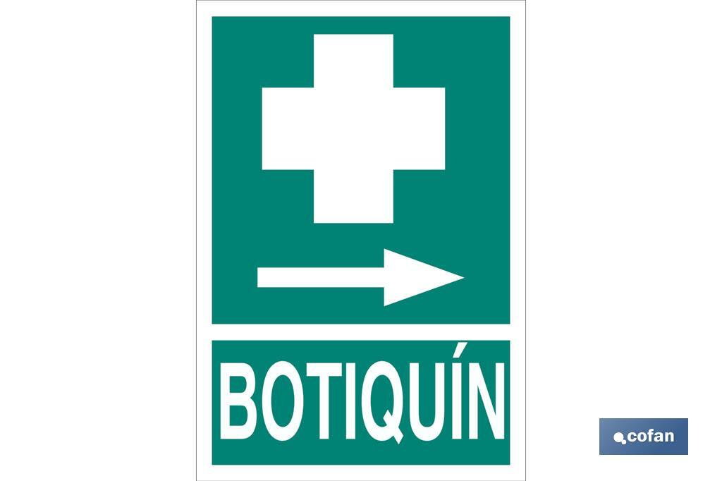 Señal Botiquín Pictograma