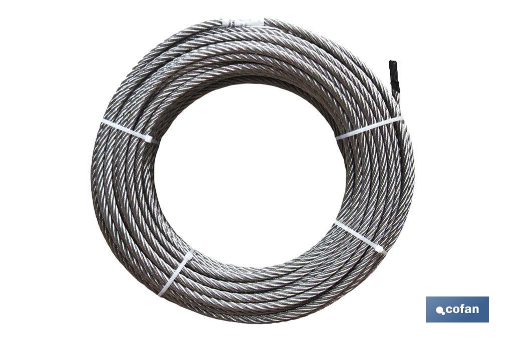 Cable Galvanizado D-1770 6x7+1