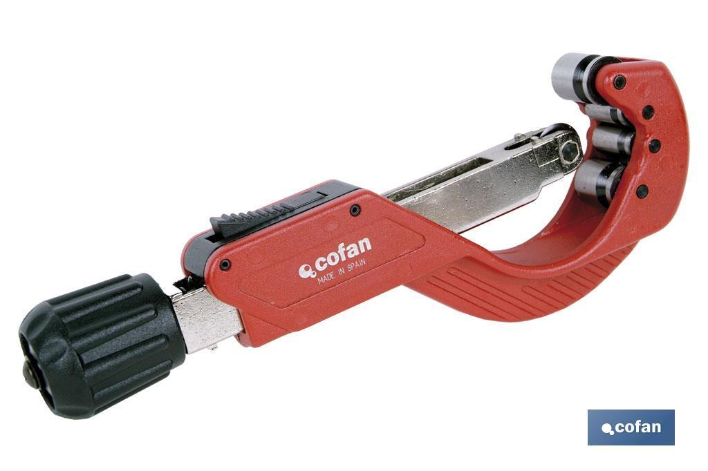 Cortatubos 4 rodillos para tubos de metal 6-67mm