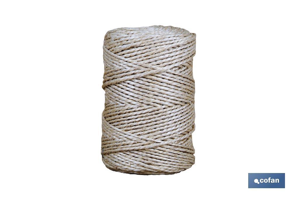 Cuerda en Bobinas (750 gr.) de Sisal