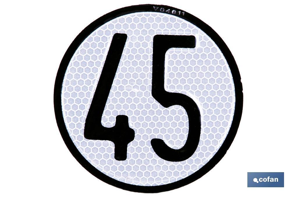Disco de Velocidad 45 km