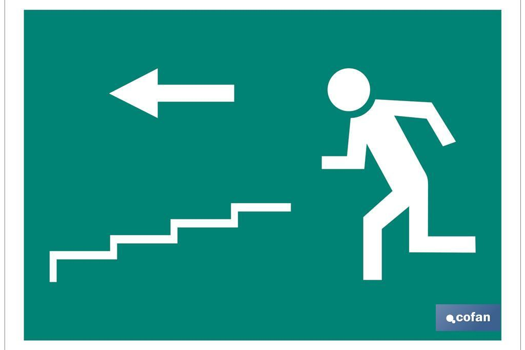 Salida Escalera izquierda Bajada.