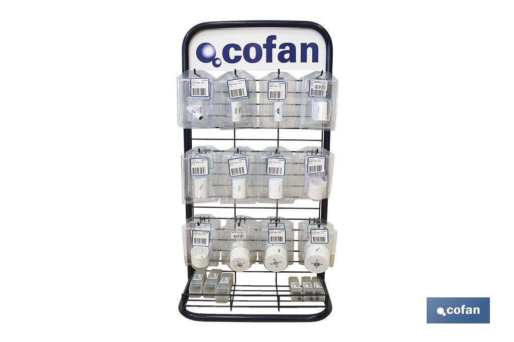 Expositor Coronas Bi-metálicas