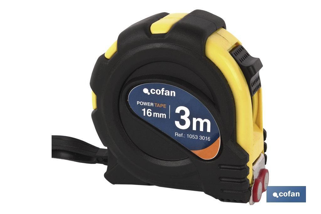 Flexómetro gancho magnético