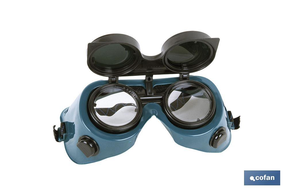 Gafas Abatibles de Protección