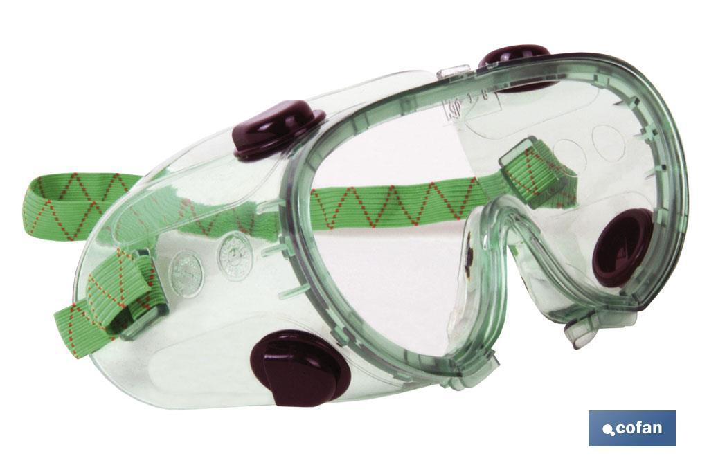 Gafas, Antiproyecciones Doble Protección Antivaho