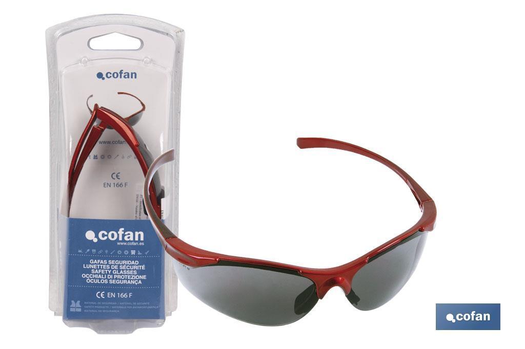Gafas de seguridad anatómica