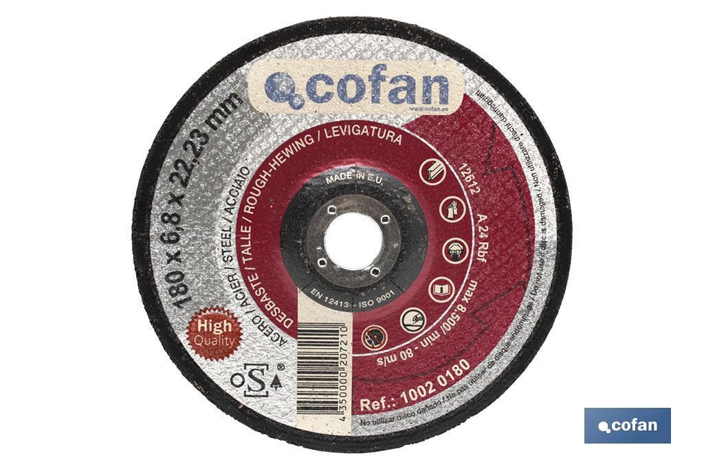 Gama profesional discos de desbaste