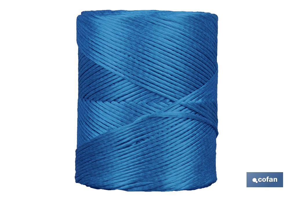 Hilo de Rafia Sintética Azul