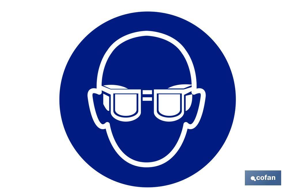 Obligatorio Uso de gafas