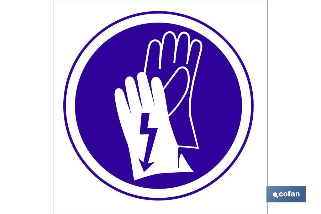Obligatorio guantes Electricos