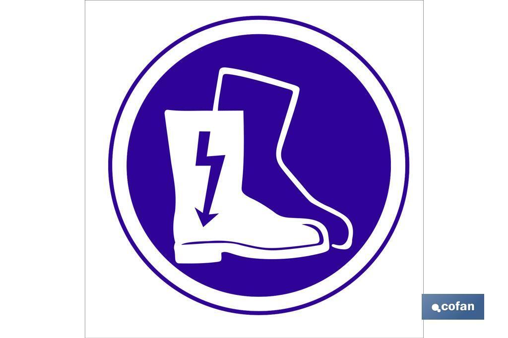 Obligatorio calzado eléctrico