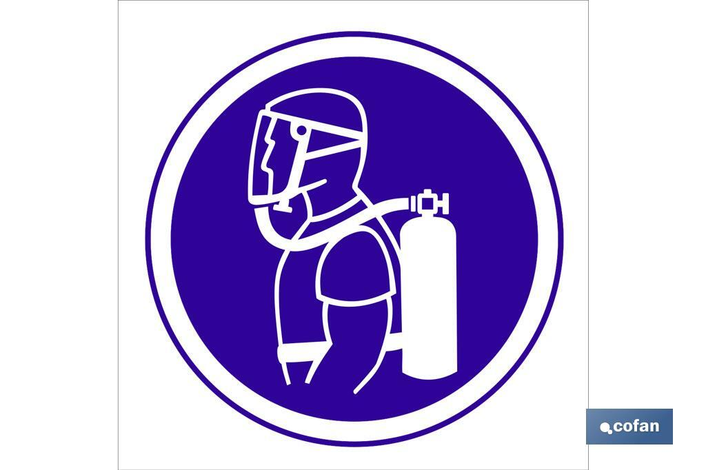 Obligatorio respirador autónomo