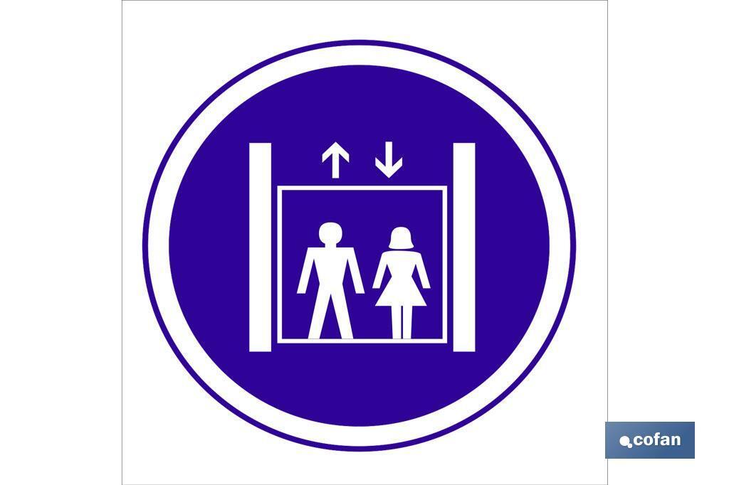 Obligatorio uso ascensor