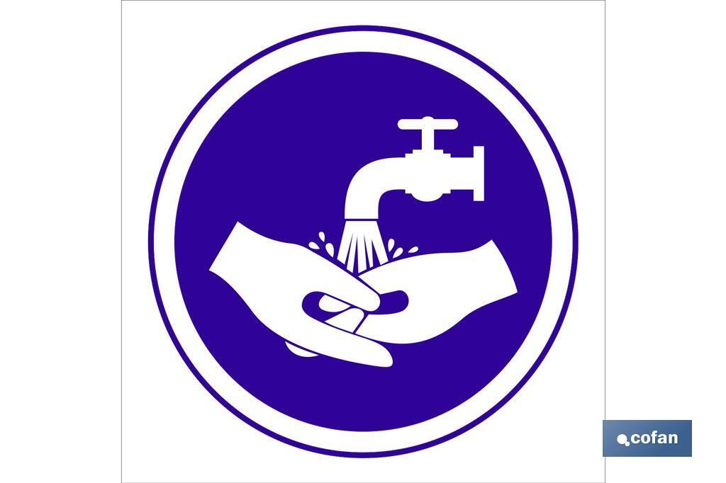 Obligatorio lavarse manos