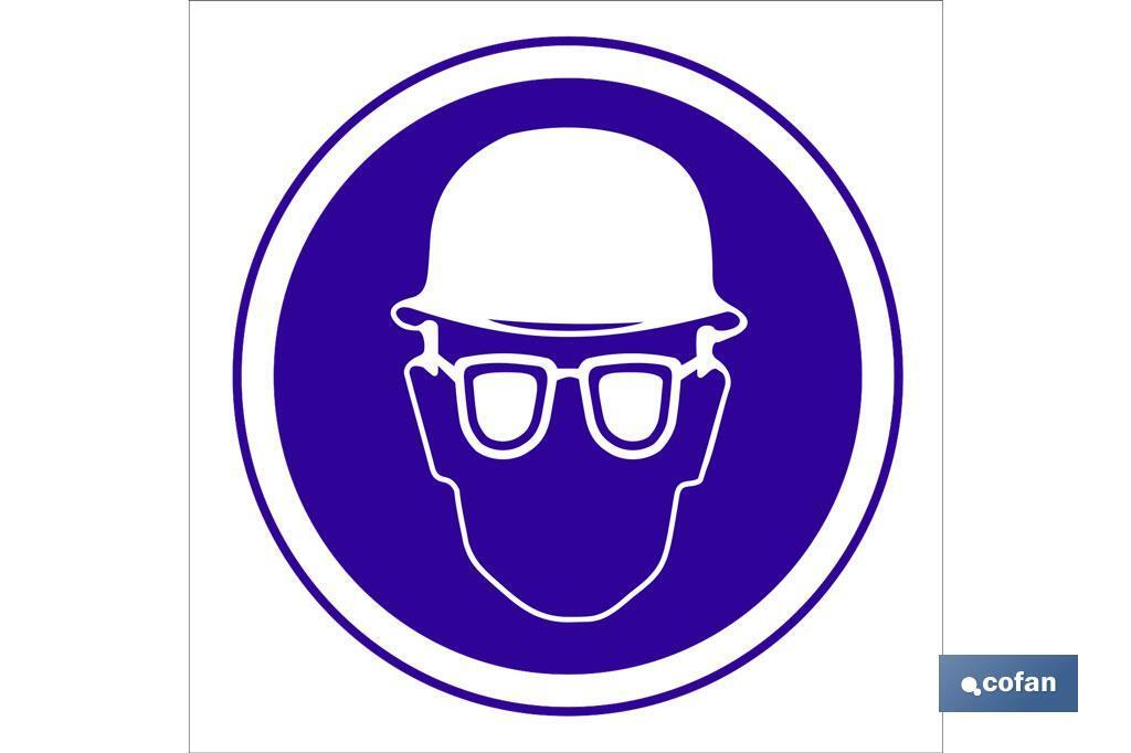 Obligatorio uso casco y gafas