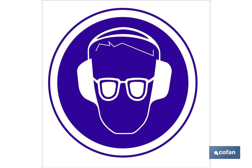 Obligatorio proteger oidos y vista