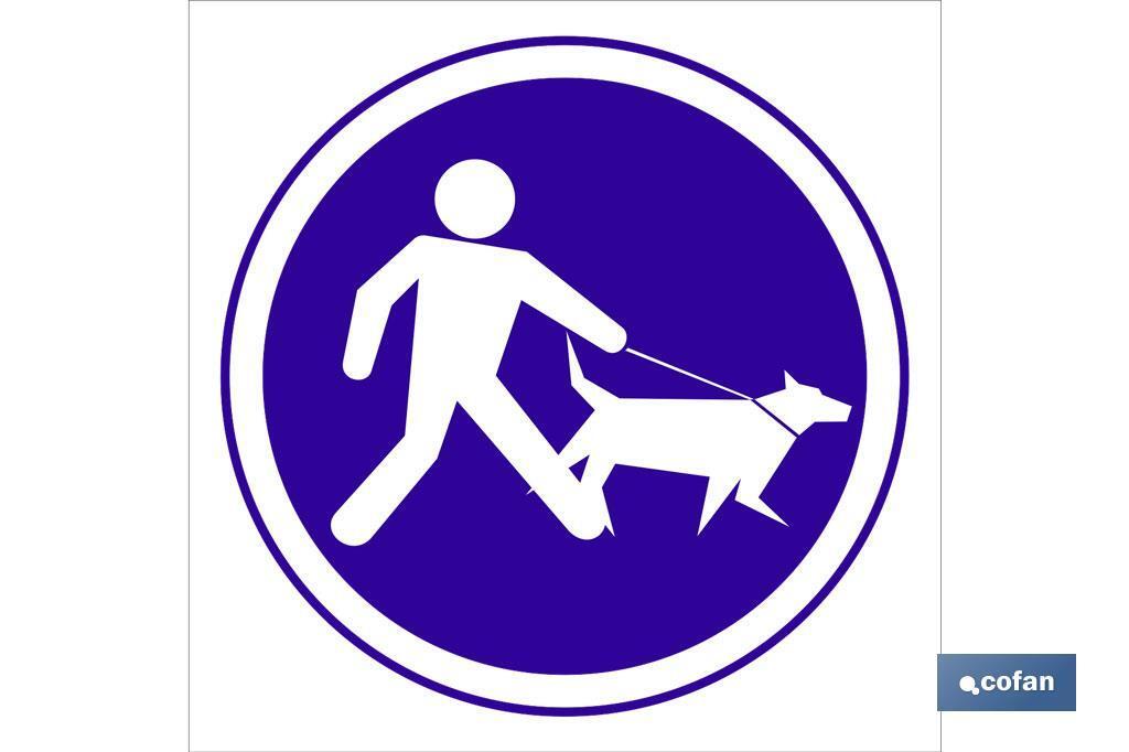 Obligatorio correa perros
