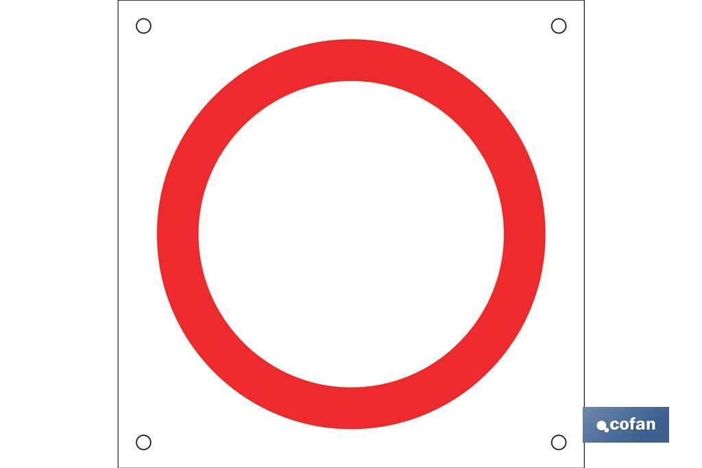 OB05 Prohibido circular