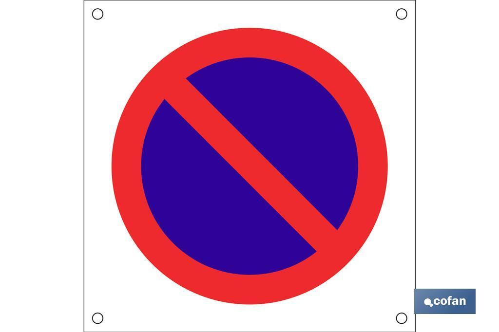 OB13 Prohibido aparcar
