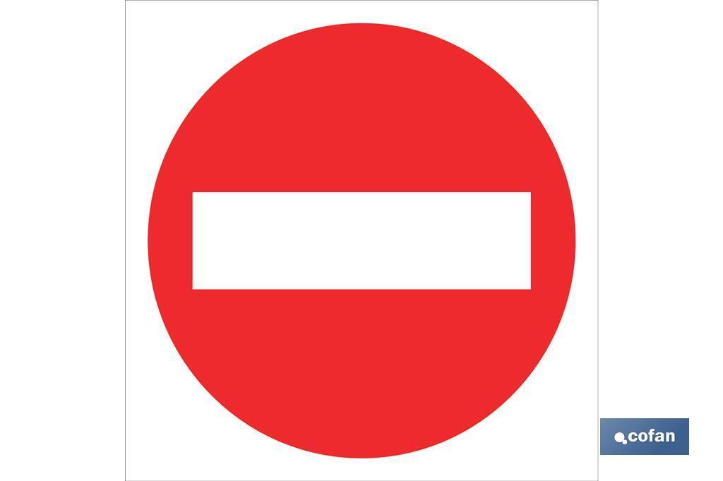 Prohibido paso
