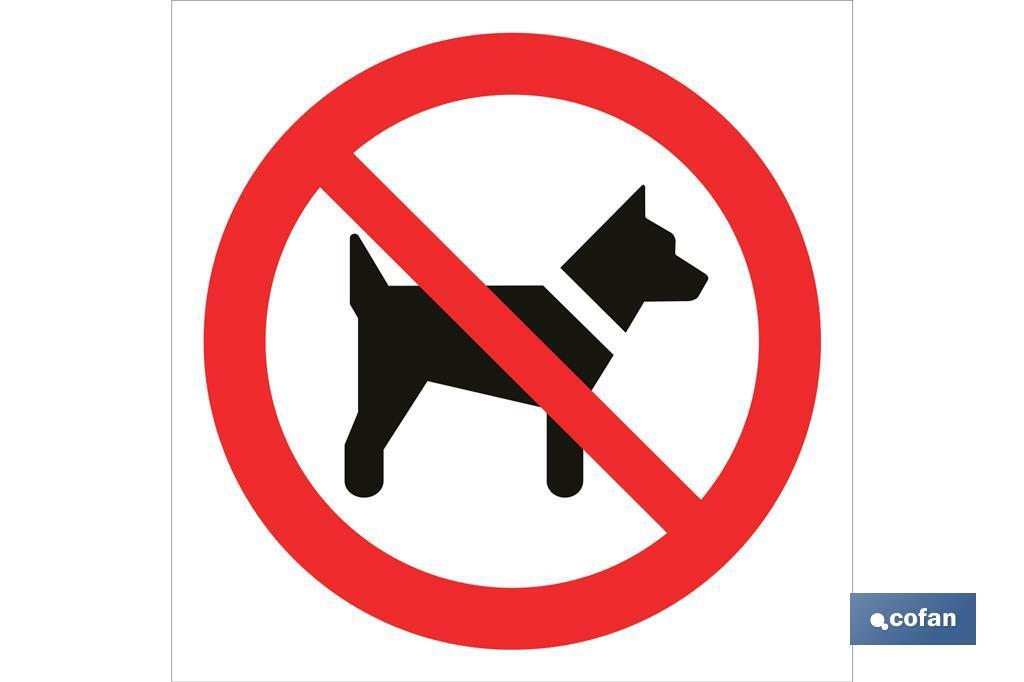 Prohibido perros