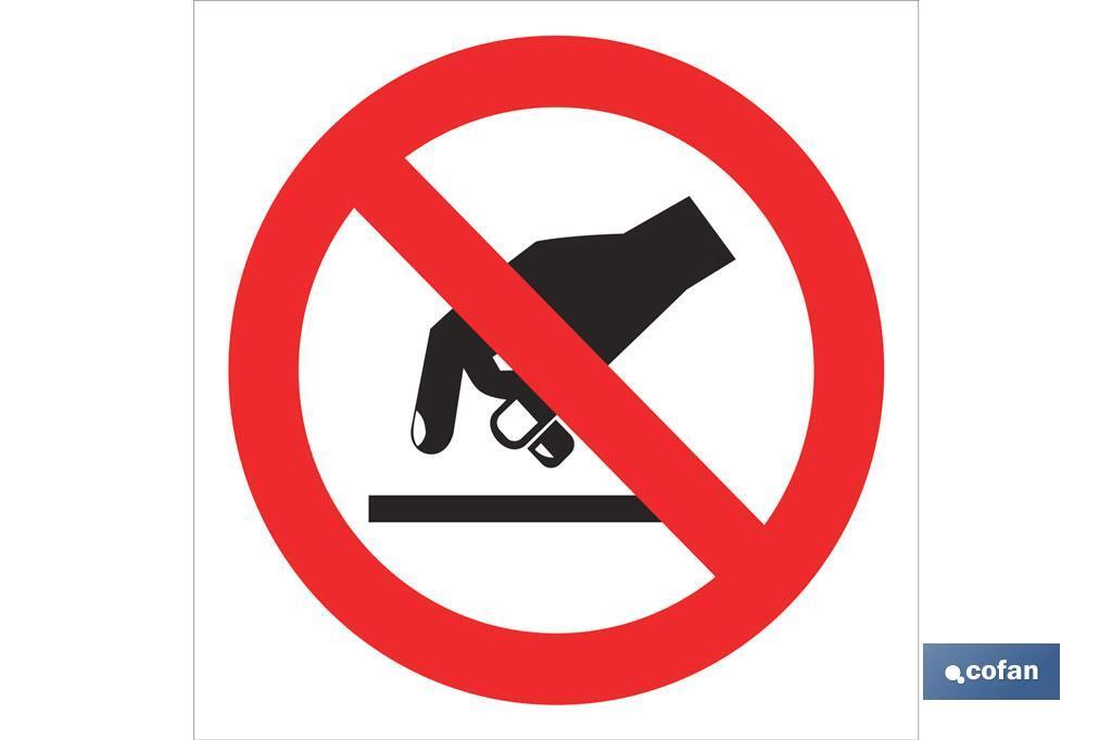 Prohibido tocar