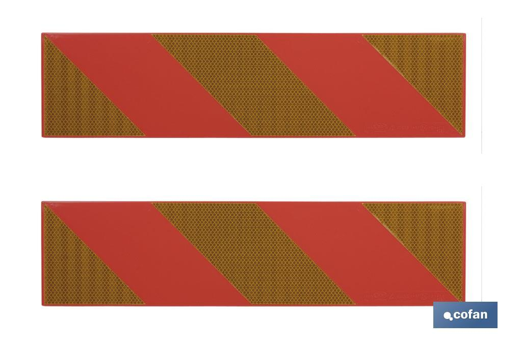 Placas V-06 para remolques