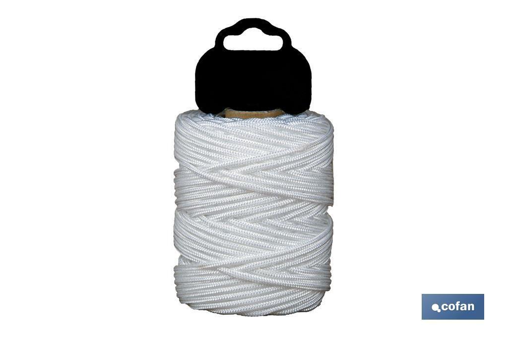 Riel Trenzado de Polipropileno (Cortinas) 3mm ø (Blíster)