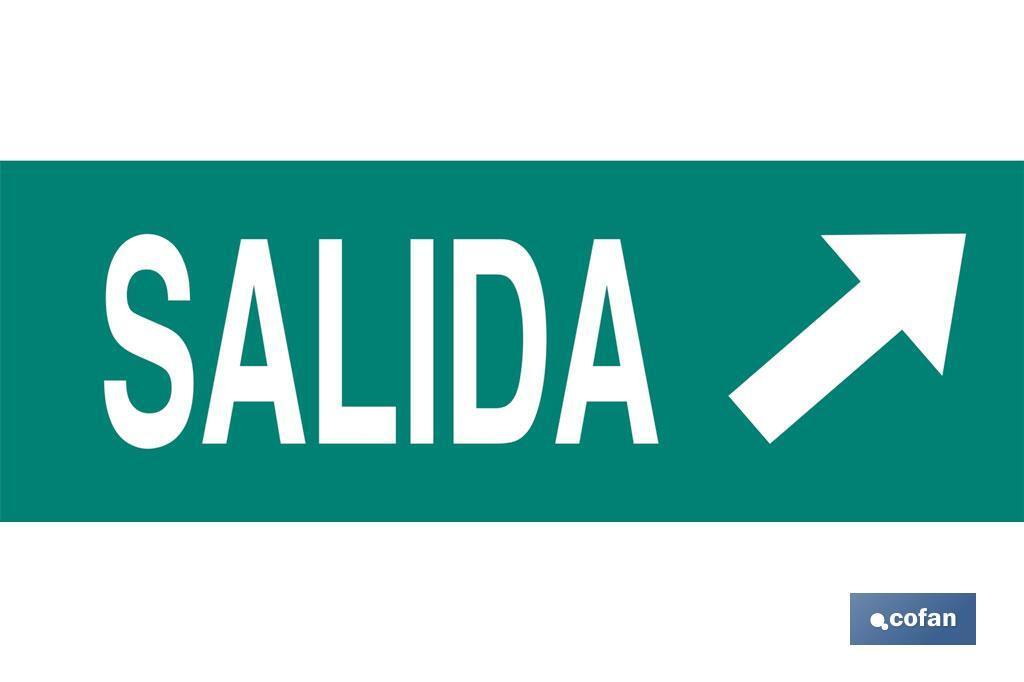 Señal Salida Diagonal