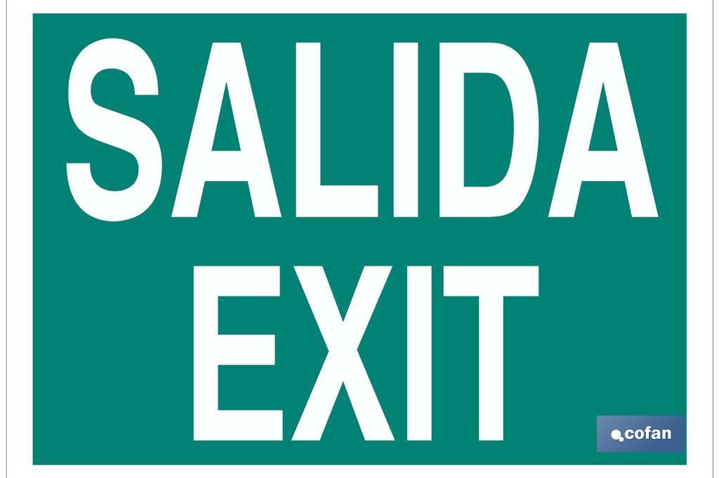 Señal Salida / Exit