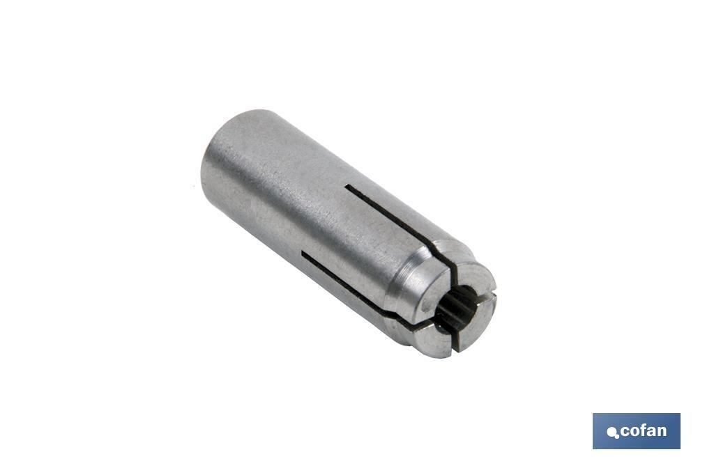 Taco Metálico Expansión por Golpe INOX A-2