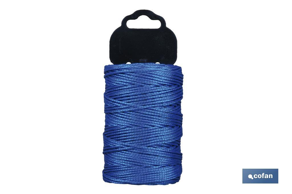 Trenza de Polipropileno / 8842 1,5 mm ø Azul (Blíster)