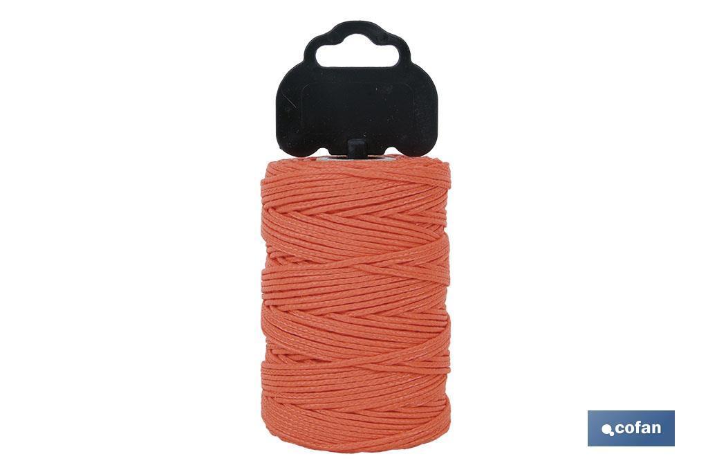 Trenza de Polipropileno / 8842 1,5 mm ø Naranja (Blíster)