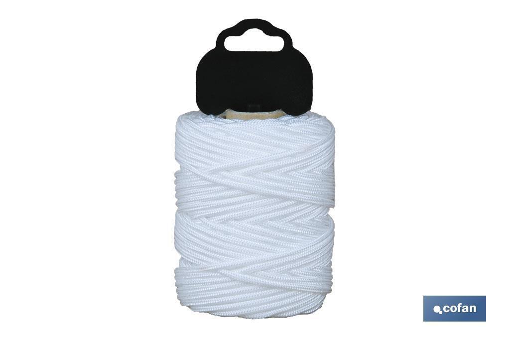 Trenza de Polipropileno / 8842 1,5mm ø Blanco (Blíster)