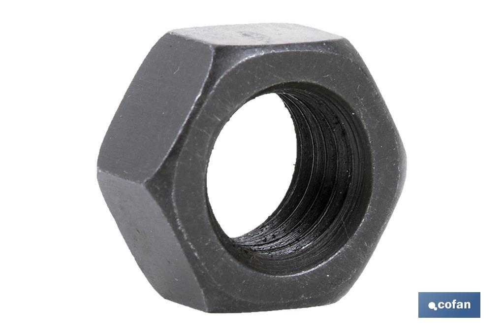 Tuerca Hexagonal C.10 Negro