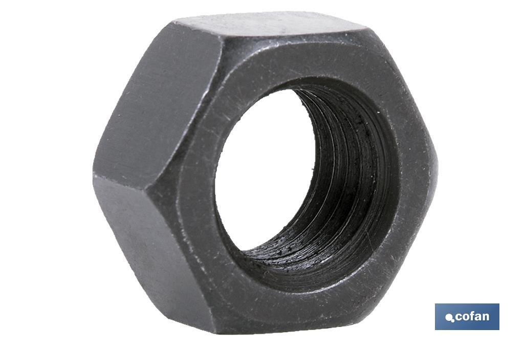 Tuerca Hexagonal C.8 Negro