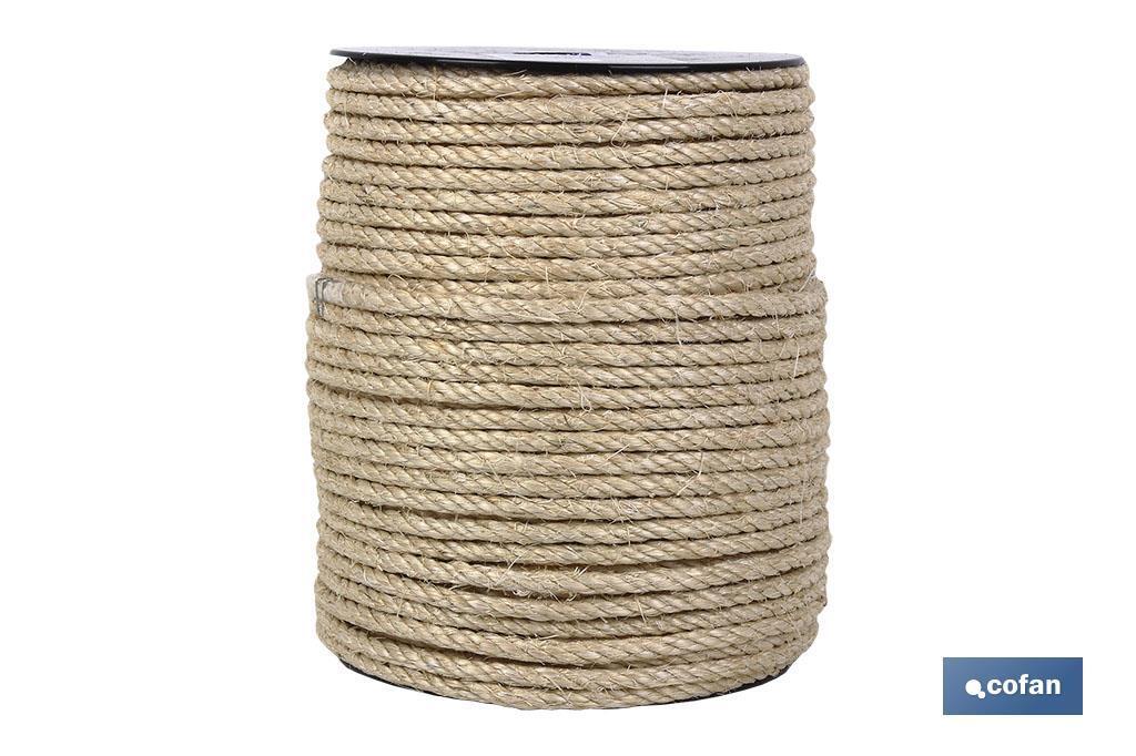 Cuerda Sisal 4 C. Rollo pequeño