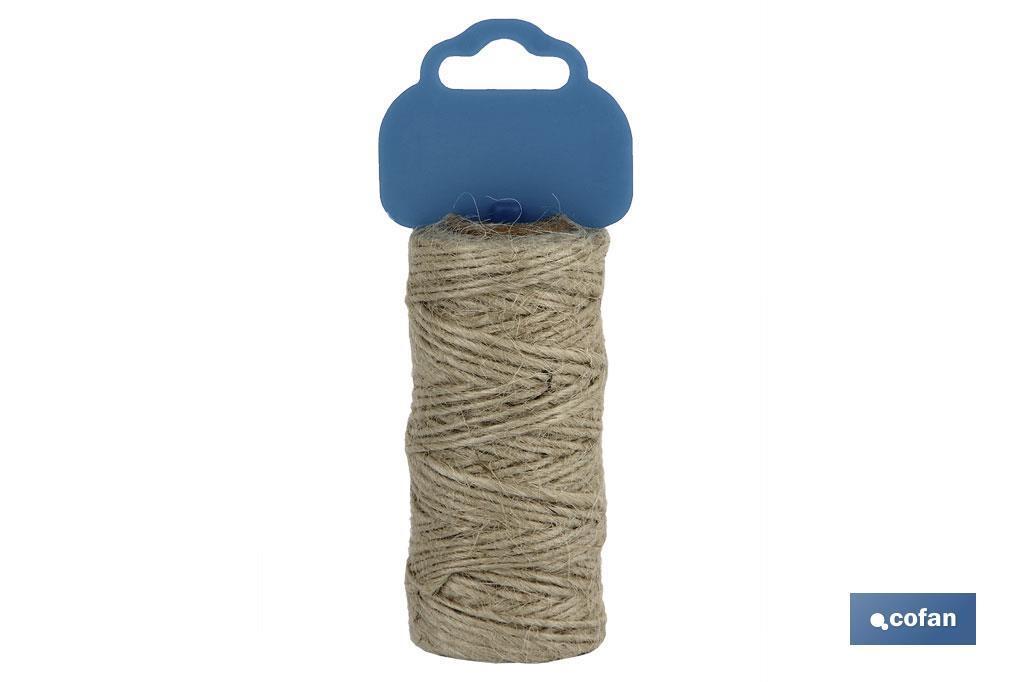 BOBINA HILO YUTE Nº2 (1,5 mm)