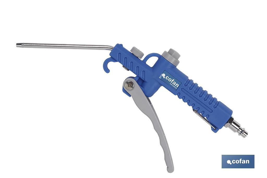 Pistola plástico rígido de soplar (100mm)