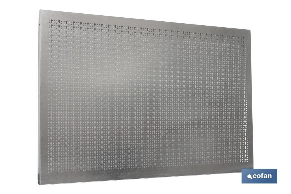 Panel herramientas Acero