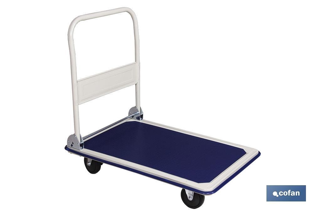 Carro plataforma plegable de aluminio