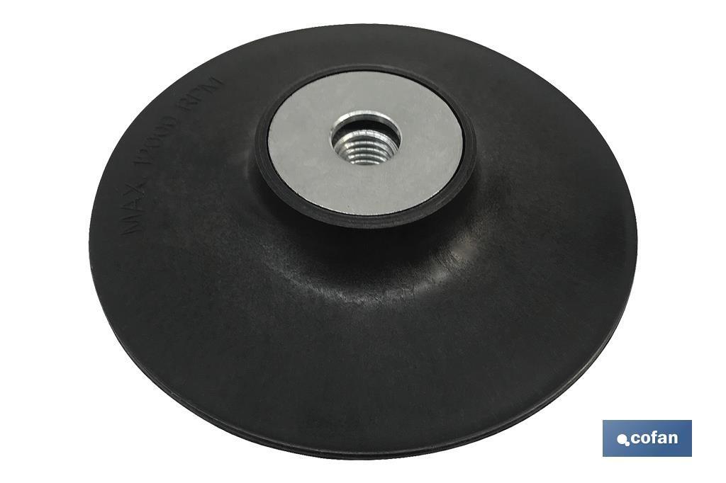 Plato para Discos de fibra y semiflexibles