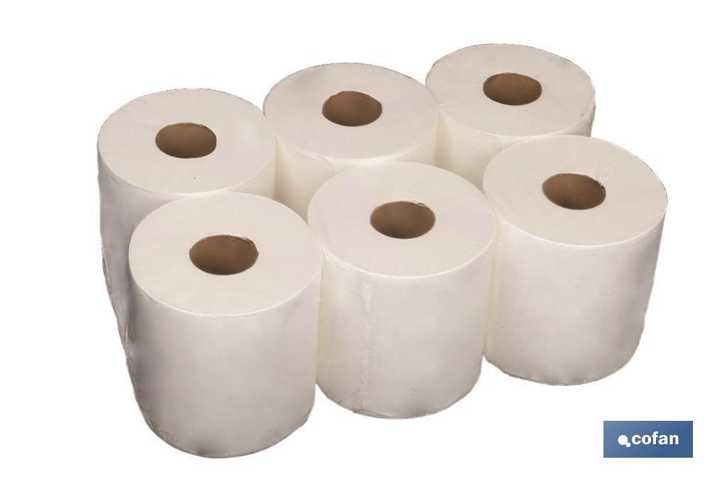 Papel Secamanos Reciclado (6 Rollos)