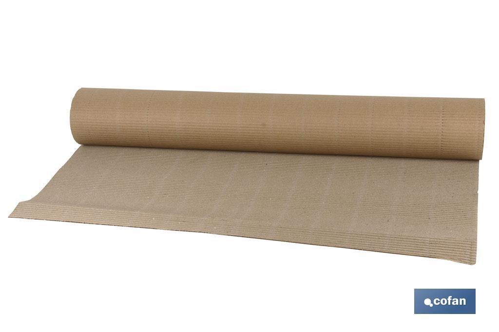 Rollo cartón ecológico marrón