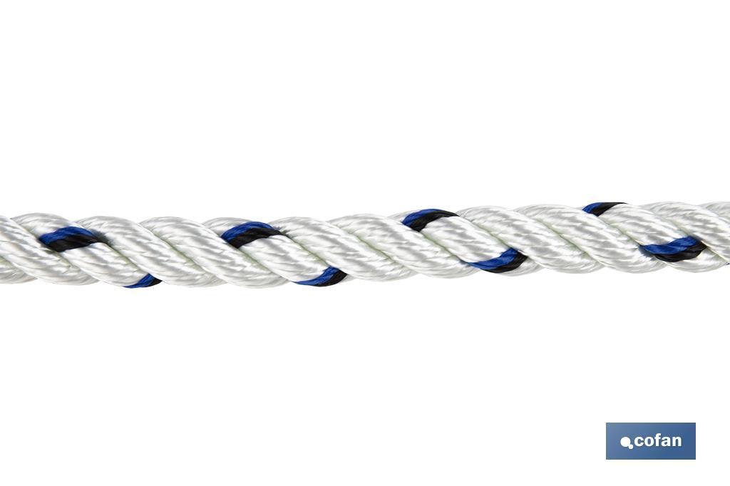 Cuerda de Seguridad para Arnés 1.5 m